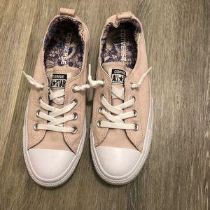 Blush pink converse sneaker